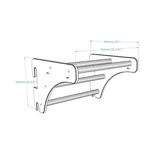 Rower Spiningowy Classic SS Body Bike Biały 99160011